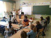 112 Carlota Galgos goes back to school Going Back To School, Non Profit, Fundraising, Charity, Spanish, Basketball Court, Spanish Language, Spain, Fundraisers