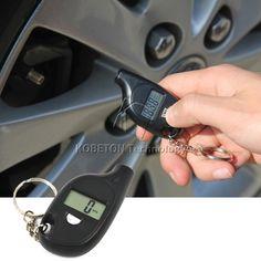 행렬 도구 2-150 PSI 미니 휴대용 디지털 자동차 자동차 타이어 압력 테스터 오토바이 타이어 공기 미터 게이지 LCD 디스플레이