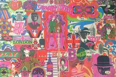 Mod •~• vintage notebook cover, 1968
