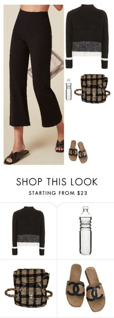 """""""Untitled #2051"""" by tayloremily218 on Polyvore featuring Topshop, Dot & Bo and Chanel"""