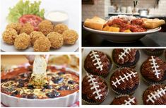 …because it's officially that time of year when you have the Super Bowl part planned, but are drawing blanks on what to serve for food. Browse some of the best Super Bowl food recipes from appetizers to snacks to desserts and drinks. 1. Buffalo Chicken Super Bowl Cheese Balls: Get th…