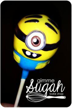 My little Minion - Despicable Me cakepops!