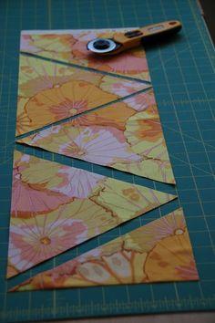 Triangle cutting tutorial