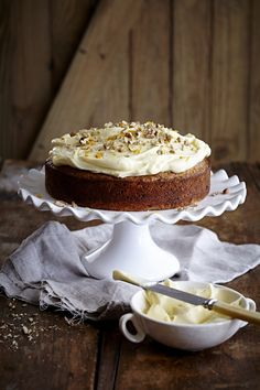 NOMU is an original South African food and lifestyle concept by Tracy Foulkes. Cake With Cream Cheese, Cream Cheese Frosting, Cake Cookies, Cupcake Cakes, Cupcakes, Carrot Cake Ingredients, Cake Decorating Frosting, Custard Tart, Pecan Nuts