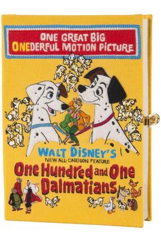 Walt Disney inspired Olympia Le Tan book clutches and bags are the best purses we've ever seen.