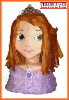 Piñatas Celebremos! Piñata de Princesa Sofia - Princess Sofia