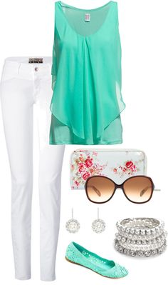 """light and airy"" by replendently-me on Polyvore"