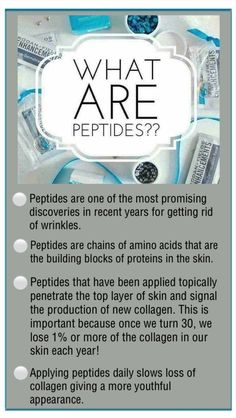 Peptides? Oh I'm in those 30s you are speaking of... Got mine :)