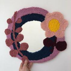 Eva Verbruggen - Textileartist (@hetateliervanevav) • Instagram-foto's en -video's Punch Needle, Crochet Necklace, Instagram, Jewelry, Jewlery, Jewerly, Schmuck, Jewels, Jewelery