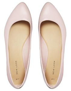 New Look Joinery Pink Flat Shoes - Asos - $27.49