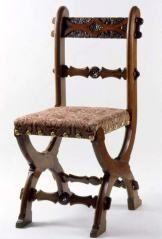 Chair AUGUSTUS WELBY NORTHMORE PUGIN (BRITISH, 1812–1852)  HENRY GEORGE THOMPSON (BRITISH, ACTIVE C. 1851–1871) C. 1853