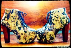 puppies and heels? anyone? Jeffrey Cambell Lita's