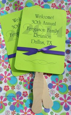 Family Reunion Favors by abbeyandizziedesigns on Etsy, $58.50