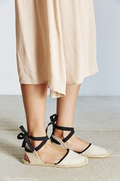 French-style Soludos espadrilles