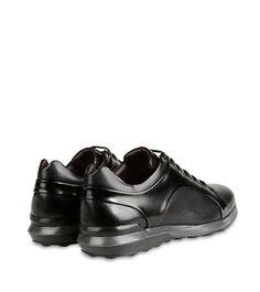 ZZEGNA:SneakersLogo Fermeture avec lacets Semelle en cNoir44684665BL
