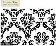 free vector damask pattern - another pinner took this & changed it to red damask on white background, printed it out & framed two in white frames to hang on my teal wall Free Vector Files, Free Vector Graphics, Free Vector Art, Free Damask Pattern, Vector Pattern, Damask Patterns, Paper Patterns, Cover Pics For Facebook, Free Facebook