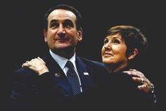 Coach K and Mickie