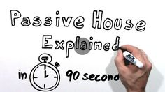 """I'm a Passive House enthusiast. I'm involved in this great movement to create highly energy efficient buildings that use 80 to 90% less energy. But how? I get asked often what a Passive House is. This is the low down in 90 seconds."""