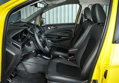 2017 Ford EcoSport Front Seats