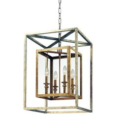 """Another option for custom pricing?  Cool style with """"x"""" that matches windows. Morgan Suspension by Troy Lighting"""