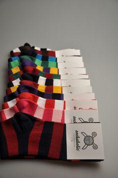 Striped Socks #sockaholic #FeelTheColor #fashion #vintage #retro