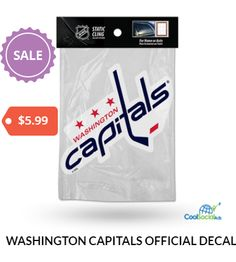 WASHINGTON CAPITALS OFFICIAL DECALS for more details visit http://coolsocialads.com/washington-capitals-official-decals-93083