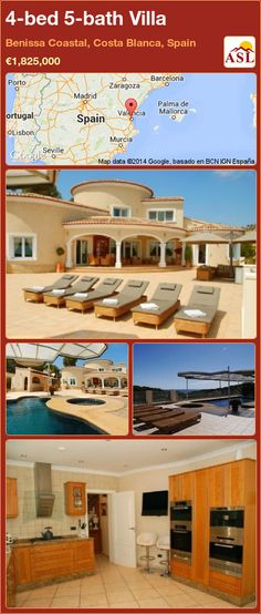4-bed 5-bath Villa in Benissa Coastal, Costa Blanca, Spain ►€1,825,000 #PropertyForSaleInSpain
