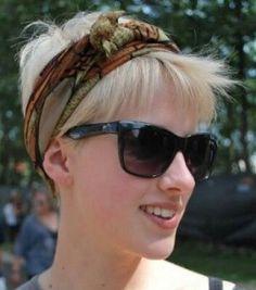 Korte Kapsels met Haarband, lekker zomers!