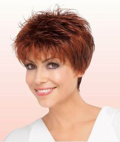 Short Hairstyles Heart Face Round Face Shape Short-Shag-Hairstyle