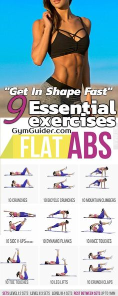 Use This 5 Minute Abs Routine Workout To Build A Stronger More Curvaceous Core - GymGuider.com