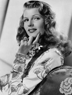 Rita Hayworth in a publicity photo for Gilda, 1946.