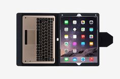 FYY iPad Pro Case $80.88 Available in a plethora of patterns, the FYY iPad Pro case has a Bluetooth keyboard, a micro fiber interior, and magnetically snaps shut when closed. It even has a stand on the back to prop the iPad Pro in landscape mode.