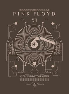 Time machine ~ Pink Floyd tribute artwork