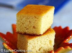 Eggless Vanilla Cake Recipe | Eggless Cooking Eggless Desserts, Eggless Recipes, Eggless Baking, Milk Recipes, Eggless Vanilla Sponge Cake, Egg Free Cakes, Allergies Alimentaires, Easy Cupcake Recipes, Simple Recipes