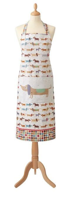 Ulster Weavers Hot Dogs Cotton Apron | Wayfair UK