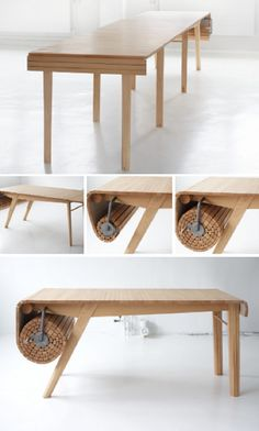 Table designed by Marcus Voraa
