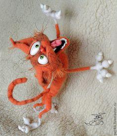 Купить или заказать Аристарх. Дикие страсти! в интернет-магазине на Ярмарке Мастеров. Аристарх, кот дикошарый, абсолютно безбашенный! Вождь краснокожих! Но в душе он -маленький пушистый котёнок!