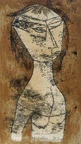 Paul Klee, Die Heilige vom innern Licht, 1921 Bauhaus-Archiv / Museum für Gestaltung, Berlin