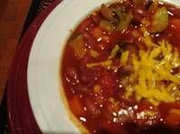 vegetarian chili..