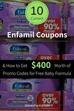 175 best freebies images on pinterest frugal save my money and 10 current enfamil coupon codes get 400 worth of promo codes for free baby formula fandeluxe Gallery