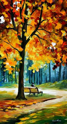 RECOLLECTIONS OF THE PAST by Leonid Afremov
