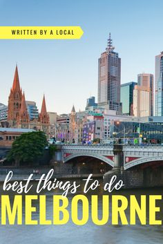 Melbourne is Australia's cultural capital and is packed with things to do! Come and find out what you should try when you travel to Melbourne. Australia Travel Guide, Visit Australia, Melbourne Australia, Western Australia, South Australia, Darwin Australia, Australia Kangaroo, Australia Funny, Australia 2018