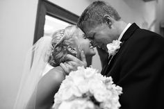 wedding photos-emotional groom and smiling brides