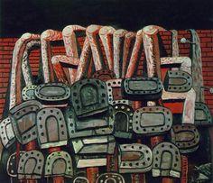 Philip Guston - Ancient Wall (1976)