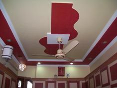 Simple Pop Design For Small Bedroom Ceiling Design For Bedroom Pop Ceiling Design, Pop Design For Roof, Plaster Ceiling Design, Ceiling Design Living Room, Bedroom False Ceiling Design, Home Ceiling, Ceiling Decor, Bedroom Ceiling, Ceiling Fans