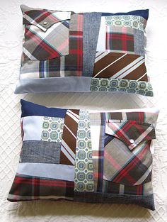 Pillows Made Out Of Loved Ones Shirts