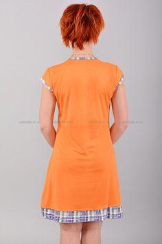 Домашнее платье В0076 Цена: 350 руб Симпатичное, домашнее платье выполнено из комфортного материала. Модель комфортного кроя, украшена контрастным принтом. Состав: 65 % хлопок, 35 % полиэстер. Размеры:XL,2XL,3X  http://odezhda-m.ru/products/domashnee-plate-v0076  #одежда #женщинам #домашняяодежда #одеждамаркет