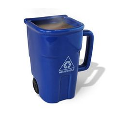 Recycle Bin Coffee Mug. Unique coffee mug.