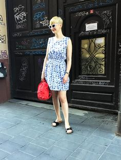 #new #collection #dress #availableonline #unique #style #classic #striped #patterned #printed #denim #cute #budapest #szputnyikshop #szputnyik Elegant Dresses, Vintage Dresses, Casual Dresses, Festival Essentials, Short Summer Dresses, Printed Denim, Hippie Style, Festival Fashion, Special Occasion Dresses