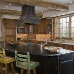 #DinnerBellThursday  www.tetonheritagebuilders.com  Pine Haven Kitchen